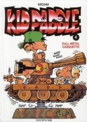Kid Paddle t.4 ; full métal casquette - Couverture - Format classique
