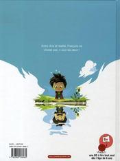 Le monde selon françois t.1 ; le secret des écrivains - 4ème de couverture - Format classique