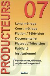 Producteurs (édition 2007) - Couverture - Format classique