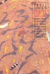 Textes, 1962-1993 - Intérieur - Format classique