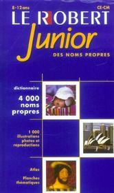 Robert Junior Des Noms Propres - Intérieur - Format classique