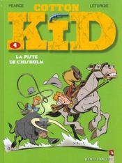 Cotton Kid t.4 ; la piste de Chisholm - Intérieur - Format classique