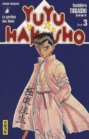 Yuyu hakusho t.3 - Couverture - Format classique