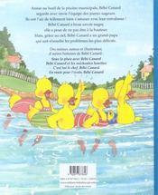 Entre dans la ronde bebe canard - 4ème de couverture - Format classique