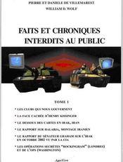 Faits et chroniques interdits au public t.1 - Intérieur - Format classique