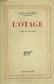 L'Otage. - Couverture - Format classique