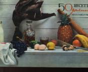 50 Recettes Gourmandes Faciles A Faire Et Peu Couteuses - Couverture - Format classique