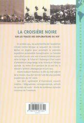 La croisière noire ; recit intégral - 4ème de couverture - Format classique