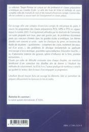 Mecanique Du Point ; Ptsi - 4ème de couverture - Format classique