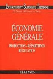 Economie Generale Production Repartition Regulation - Intérieur - Format classique