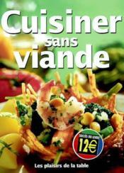 Cuisiner Sans Viande - Couverture - Format classique