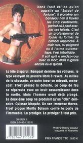 Hank Le Mercenaire T.3 ; Le Commando Du Ive Reich - 4ème de couverture - Format classique