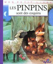 Mon petit livre: pinpins sont des coquins - Intérieur - Format classique