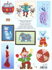 Objets et tableautins en paillettes - 4ème de couverture - Format classique