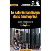 Le salarie handicape dans l'entreprise - Couverture - Format classique