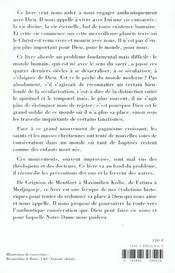 Consecration Aujourd Hui A Dieu Par Marie - 4ème de couverture - Format classique