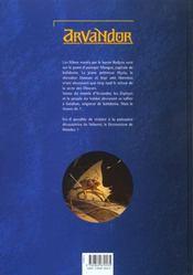 Arvandor t.2 ; le champ des âmes - 4ème de couverture - Format classique