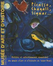 Picasso, chagall, signac - Couverture - Format classique