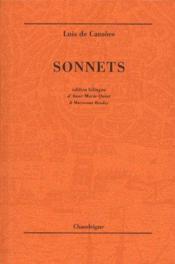 Sonnets - Couverture - Format classique