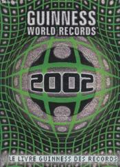 Livre Guinness Des Records 02 - Couverture - Format classique