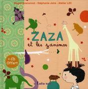 Zaza et les zanimos - Intérieur - Format classique