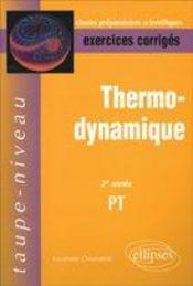 Thermodynamique ; Pt - Intérieur - Format classique