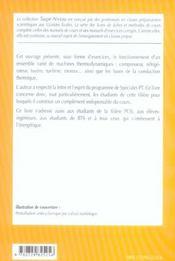 Thermodynamique ; Pt - 4ème de couverture - Format classique