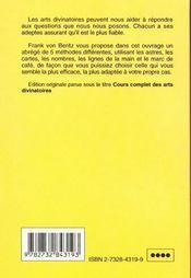 Predir L'Avenir - 4ème de couverture - Format classique