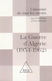 La guerre d'algerie (1954-1962) - Intérieur - Format classique