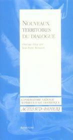 Nouveaux territoires du dialogue - Intérieur - Format classique