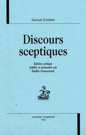 Discours Sceptiques - Intérieur - Format classique