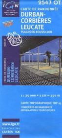 Durban-Corbière, Leucate ; 2547 OT - Couverture - Format classique