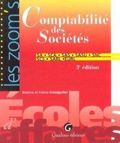 Comptabilite Des Societes - Intérieur - Format classique