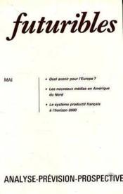 Futuribles N.77 Mai 1984 - Couverture - Format classique