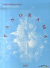 Panorama design France ; guide du design en europe (édition 2007) - Intérieur - Format classique