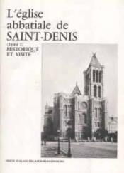 Eglise abbatiale de st denis t.1 - Couverture - Format classique