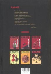Ibicus t.4 - 4ème de couverture - Format classique
