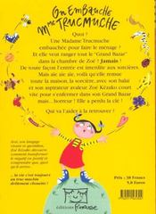 On Embauche Mme Trucmuche - 4ème de couverture - Format classique