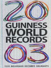 Guinness World Records 2003 - Intérieur - Format classique