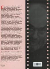 Stanley Kubrick - 4ème de couverture - Format classique