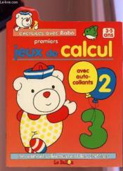 Jeux De Calcul 3/5 Ans - Couverture - Format classique