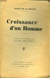 Croissance D'Un Homme - Couverture - Format classique