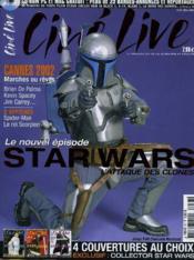 CINE LIVE - N° 57 - Le nouvel épisode STAR WARS, l'attaque des clones - Couverture - Format classique