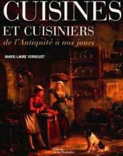 Cuisines Et Cuisiniers - Couverture - Format classique