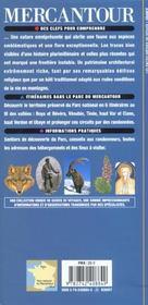 Parc National Du Mercantour(Lac D'Allos, Gorges De Daluis, Vall - 4ème de couverture - Format classique