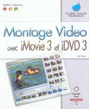 Montage video avec imovie3 et idvd3 - Intérieur - Format classique