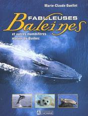 Fabuleuses Baleines Et Autres Mammiferes Marins Du Quebec - Intérieur - Format classique