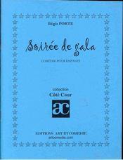 Soiree de gala ; comedie pour enfant - Intérieur - Format classique