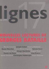 Revue Lignes T.17 ; Georges Bataille - Intérieur - Format classique