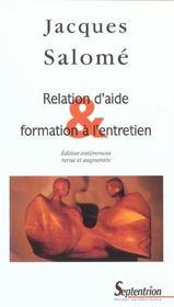 Relation d'aide et formation à l'entretien - Intérieur - Format classique